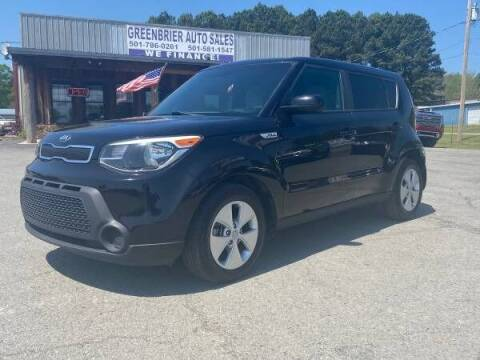 2016 Kia Soul for sale at Greenbrier Auto Sales in Greenbrier AR