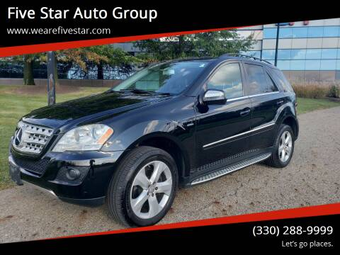 2010 Mercedes-Benz M-Class for sale at Five Star Auto Group in North Canton OH