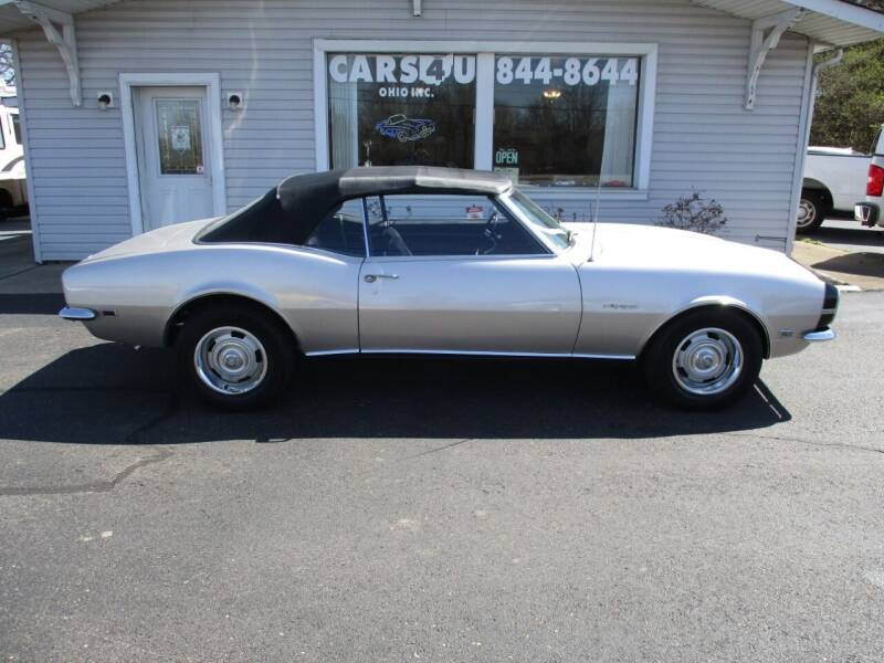 1968 Chevrolet Camaro for sale at Cars 4 U in Liberty Township OH