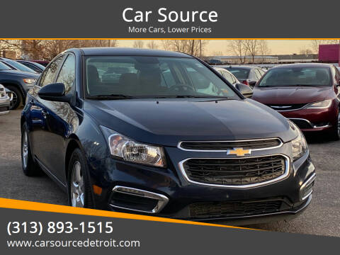 2015 Chevrolet Cruze for sale at Car Source in Detroit MI