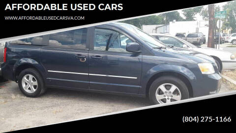 2008 Dodge Grand Caravan for sale at AFFORDABLE USED CARS in Richmond VA