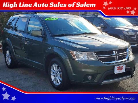 2017 Dodge Journey for sale at High Line Auto Sales of Salem in Salem NH