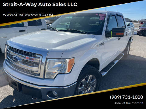2013 Ford F-150 for sale at Strait-A-Way Auto Sales LLC in Gaylord MI