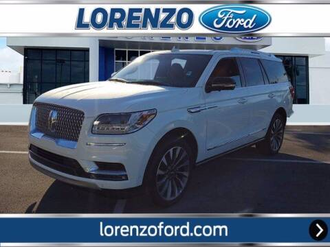 2021 Lincoln Navigator for sale at Lorenzo Ford in Homestead FL