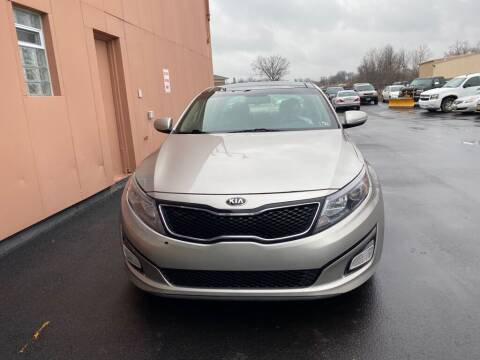 2015 Kia Optima for sale at ENZO AUTO in Parma OH