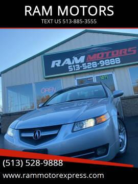 2007 Acura TL for sale at RAM MOTORS in Cincinnati OH