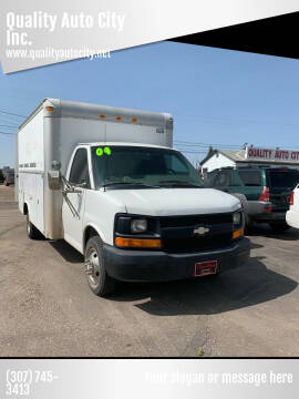 2004 Chevrolet Express Cutaway for sale at Quality Auto City Inc. in Laramie WY