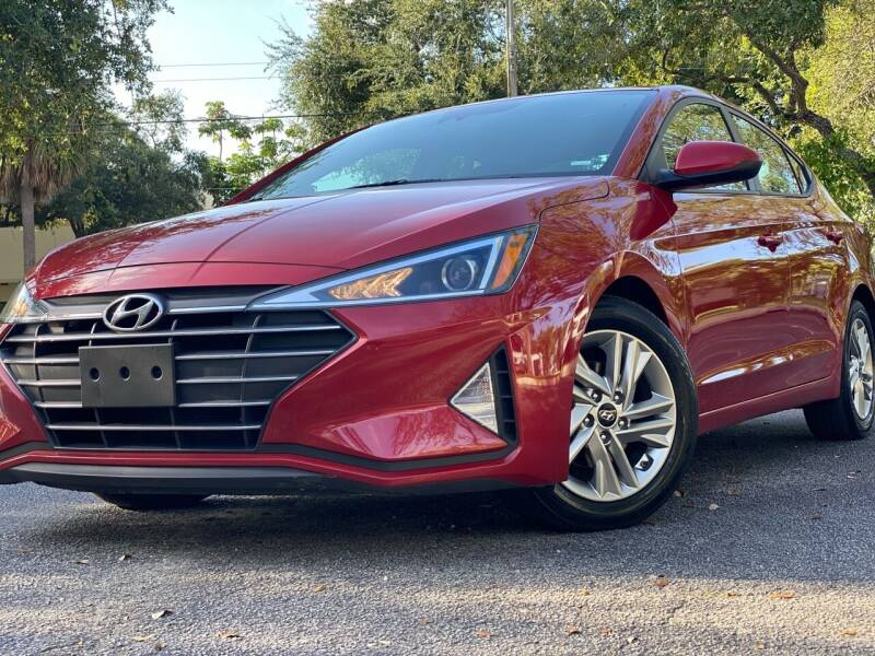 2019 Hyundai Elantra for sale at HIGH PERFORMANCE MOTORS in Hollywood FL