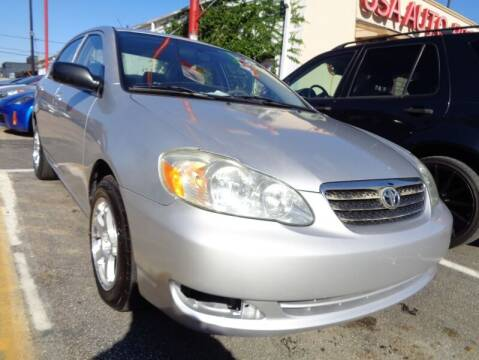 2005 Toyota Corolla for sale at USA Auto Brokers in Houston TX