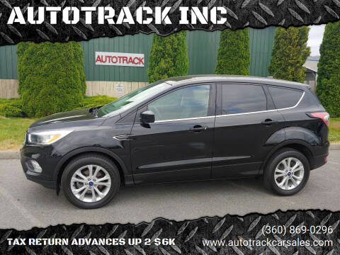 2017 Ford Escape for sale at AUTOTRACK INC in Mount Vernon WA