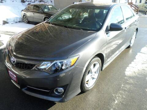 2012 Toyota Camry for sale at AUTO CONNECTION LLC in Springfield VT