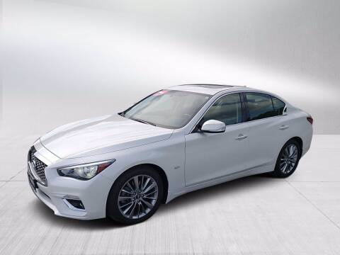 2018 Infiniti Q50 for sale at Fitzgerald Cadillac & Chevrolet in Frederick MD