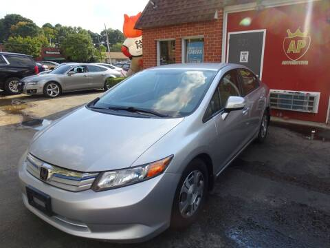 2012 Honda Civic for sale at AP Automotive in Cary NC