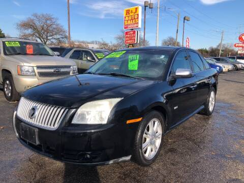 2008 Mercury Sable for sale at RJ AUTO SALES in Detroit MI