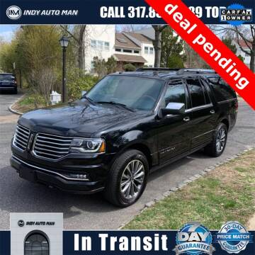 2017 Lincoln Navigator L for sale at INDY AUTO MAN in Indianapolis IN