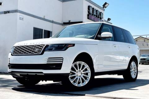 2018 Land Rover Range Rover for sale at Fastrack Auto Inc in Rosemead CA