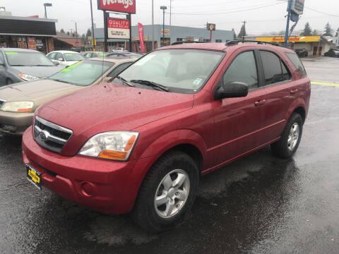 2009 Kia Sorento for sale at American Dream Motors in Everett WA