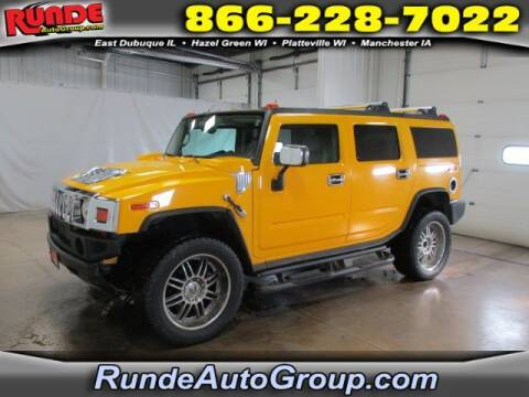 2003 HUMMER H2 for sale at Runde Chevrolet in East Dubuque IL