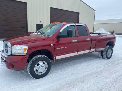2006 Dodge Ram Pickup 3500 for sale at HALVORSON AUTO in Cooperstown ND