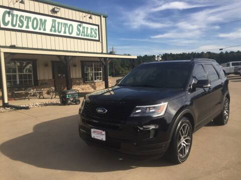 2018 Ford Explorer for sale at Custom Auto Sales - AUTOS in Longview TX