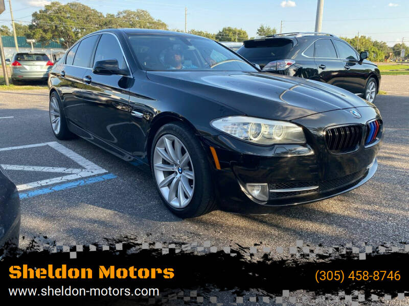 2013 BMW 5 Series for sale at Sheldon Motors in Tampa FL