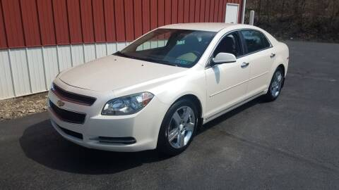 2012 Chevrolet Malibu for sale at North East Locaters Auto Sales in Indiana PA