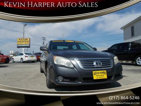 2008 Toyota Avalon for sale at Kevin Harper Auto Sales in Mount Zion IL