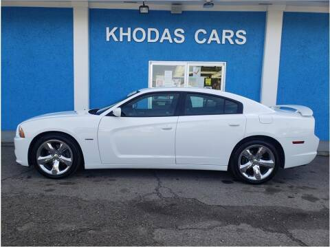 2014 Dodge Charger for sale at Khodas Cars in Gilroy CA