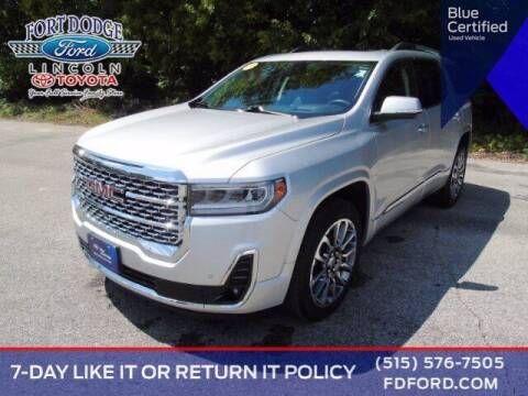 2020 GMC Acadia for sale at Fort Dodge Ford Lincoln Toyota in Fort Dodge IA