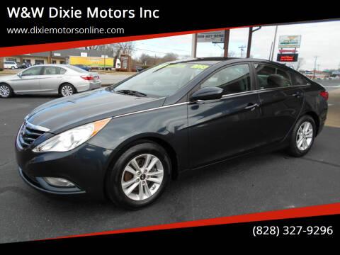2013 Hyundai Sonata for sale at W&W Dixie Motors Inc in Hickory NC
