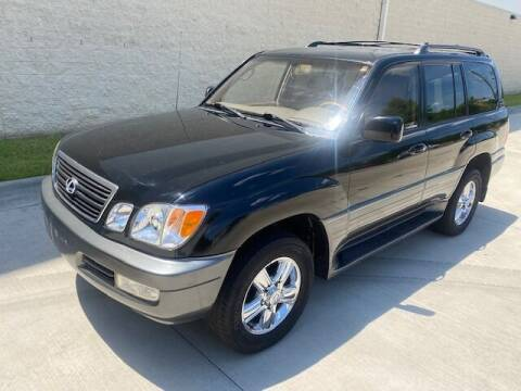 2001 Lexus LX 470 for sale at Raleigh Auto Inc. in Raleigh NC