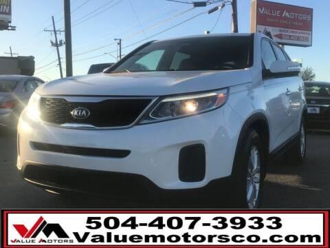 2014 Kia Sorento for sale at Value Motors Company in Marrero LA