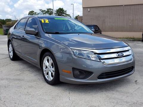 2012 Ford Fusion for sale at GATOR'S IMPORT SUPERSTORE in Melbourne FL