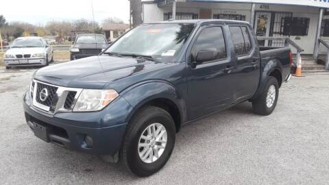 2016 Nissan Frontier for sale at RICKY'S AUTOPLEX in San Antonio TX
