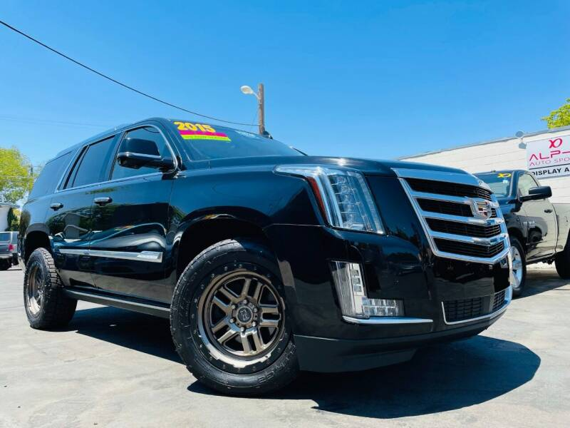 2015 Cadillac Escalade for sale at Alpha AutoSports in Roseville CA