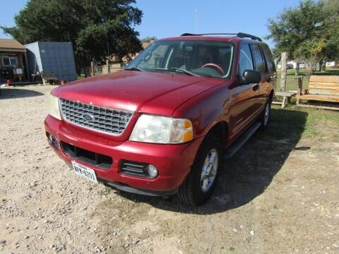 2005 Ford Explorer for sale at Hill Top Sales in Brenham TX