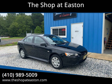 2010 Mitsubishi Lancer for sale at The Shop at Easton in Easton MD