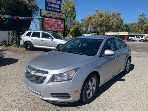 2013 Chevrolet Cruze for sale at Right Choice Auto in Boise ID