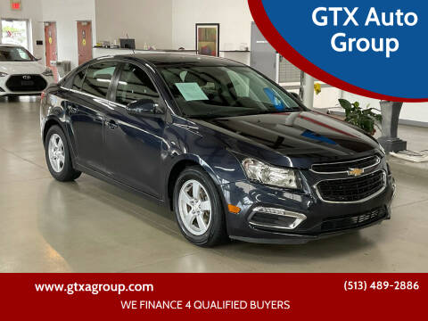 2016 Chevrolet Cruze Limited for sale at GTX Auto Group in West Chester OH