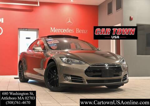 2015 Tesla Model S for sale at Car Town USA in Attleboro MA