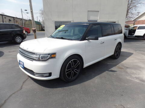 2013 Ford Flex for sale at DeLong Auto Group in Tipton IN