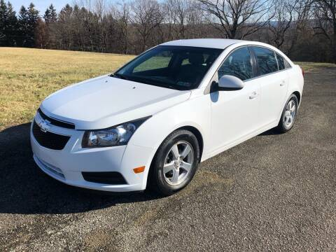2014 Chevrolet Cruze for sale at Hutchys Auto Sales & Service in Loyalhanna PA