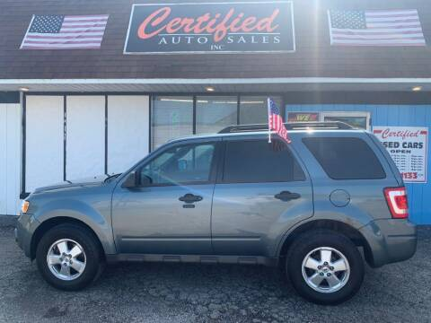 2012 Ford Escape for sale at Certified Auto Sales, Inc in Lorain OH