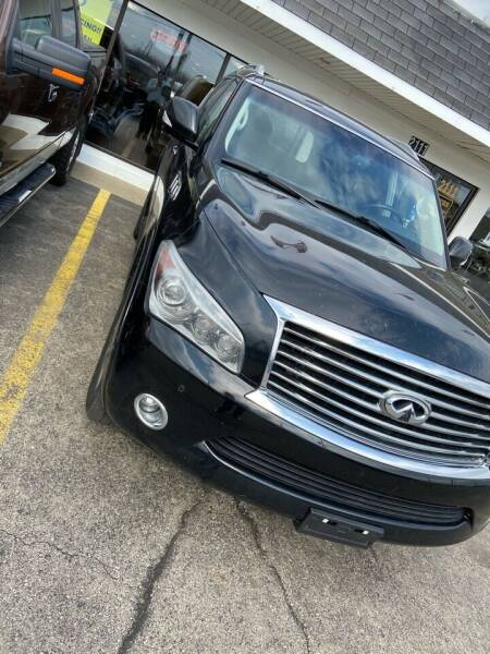 2013 Infiniti QX56 for sale at Top Notch Auto Brokers, Inc. in Palatine IL