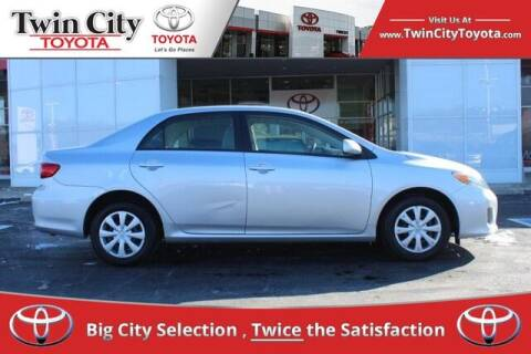 2011 Toyota Corolla for sale at Twin City Toyota in Herculaneum MO