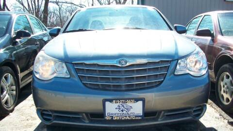 2007 Chrysler Sebring for sale at Griffon Auto Sales Inc in Lakemoor IL