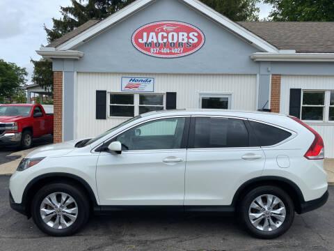 2014 Honda CR-V for sale at Jacobs Motors LLC in Bellefontaine OH