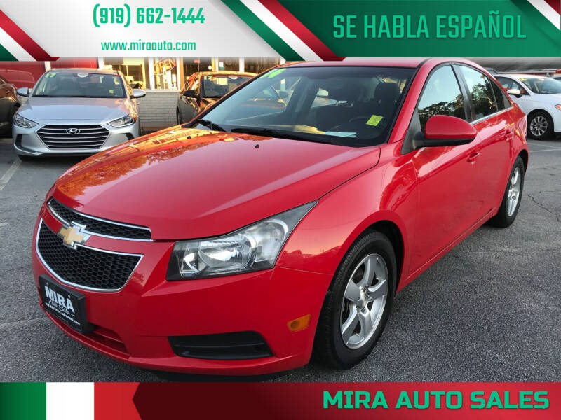 2014 Chevrolet Cruze for sale at Mira Auto Sales in Raleigh NC