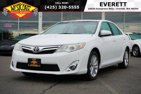 2012 Toyota Camry for sale at West Coast Auto Works in Edmonds WA
