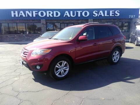 2011 Hyundai Santa Fe for sale at Hanford Auto Sales in Hanford CA
